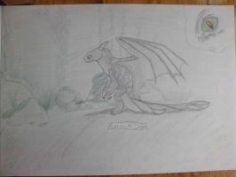 Toothless the Dragon by Toph-Rulz16