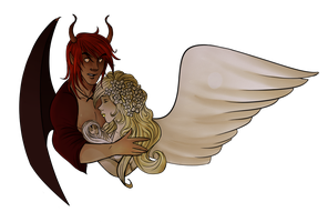 Zanaith And Falaya by Foreveryoung8