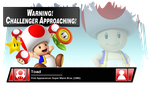 SSB4 Banner: Toad by Pixiy
