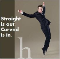 straight is out, curved is in by Chipmunki