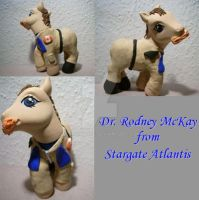 My little Pony Custom Rodney by BerryMouse