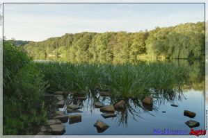 River Ruhr - HDR by mchenry