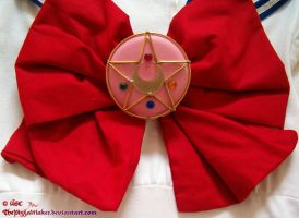 Sailor Moon R Brooch by ThePizzaMaker