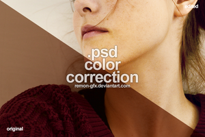 .psd file - color correction by remon-gfx