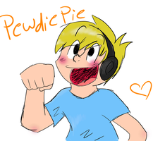 Pewdiepie by flamingkitty900