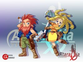 Ataraxia Online: Dwarfs by Goldsickle