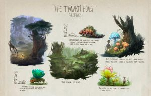 Thanakti Forest by ThomasBrissot