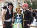 Lucy Heartfilia at Katsucon!(ft. Gajeel and Natsu) by TheCyberZombie