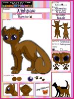 Wishpaw | female | Thornclan | apprentice by TheClansOf-TheValley