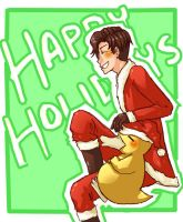 Happy Holidays by inazumaookami