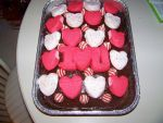 Love and Kisses Valentine's Day Cake 2 by LadyRhianwriter