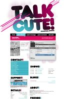 Myspace: Talk Cute by stuckwithpins