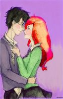 James and Lily Colored by DocsCompanion