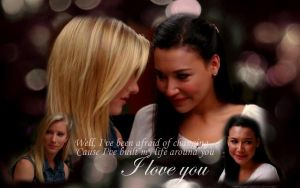 Brittana :: I love you by thatcoldmask