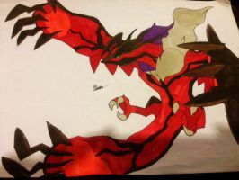 finished fanart YVELTAL! by bklighters