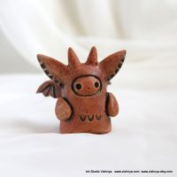 OOAK Small kindly cute Spirit by vavaleff