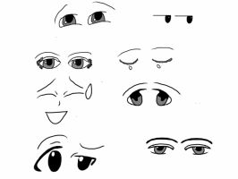 anime eyes by Foreststone