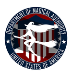 United States Department of Magical Authority Seal by Darkgrammer