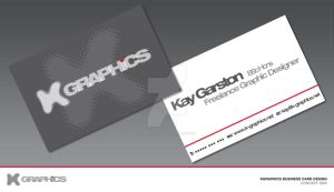 KGraphics Business Card Design by Special-K-001