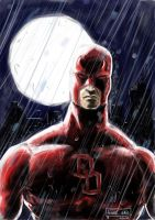 Daredevil_speedpainting by Andre-VAZ