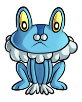 Froakie by Ashteritops