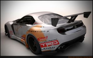 GT Toyota supra concept 2 by Sphinx1