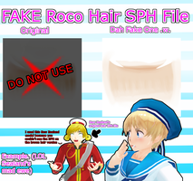 FAKE Roco Hair SPH File Pack DL by FBandCC