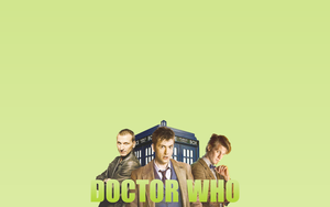 New Who Wallpaper - 9, 10, 11 by peppermintfrogs