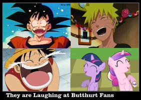 They Are Laughing At Butthurt Fans by DigiTeku