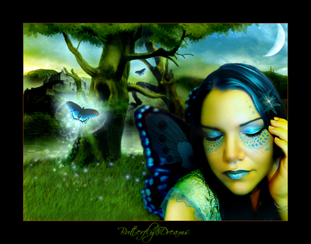 Butterfly Dreams by poeticfrenzy