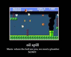 oil spill by yq6