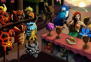 Exotic Merchant by MeteoDesigns