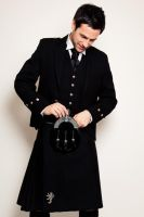 Dale in a Kilt by DavidKanePhotography