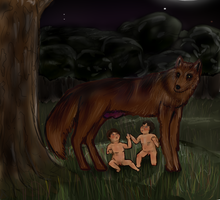 Remus and Romulus: Hetalia Style by Countess-Of-Darkness