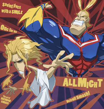 All Might by BrendanCorris