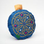 Celtic Knot Embroidery Christmas Tree Ornament 1 by FancyTogs