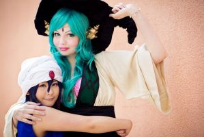 MAGI: Student And Teacher by GianMarqu