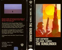 The Dark Tower The Gunslinger VHS by Hartter
