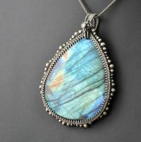 Silver lining - necklace by Eire-handmade