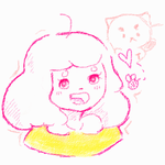 Bee + Puppycat Crayon Style by FreedomDrawer