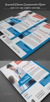 Sound Clean Corporate Flyer by calwincalwin