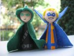Cones: Piper and Trickster by Poison-Harley