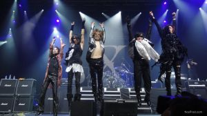 X JAPAN -final- Paris 01.07.2011 by never-over-strange
