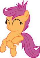 disheveled Scootalo by d2xa