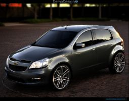 Chevrolet Agile Concept by DemoDesign