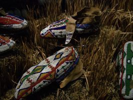 Bata Native American Shoes by corrupt-prodigy