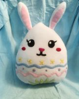 Rabbit Egg Plushie Pillow by XOFifi