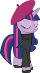 French Twilight Sparkle by SweetieCRUSADERBelle