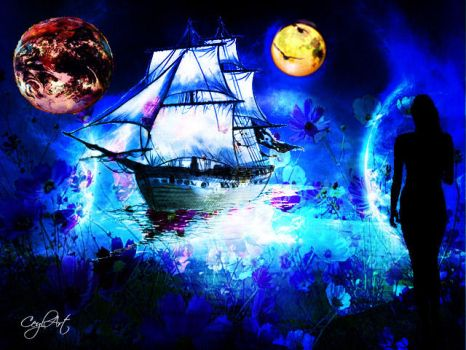 The ship of dreams by Ceyl-Art