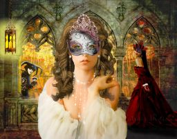 Masquerade Ball by PatriciaRodelaArtist